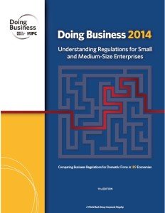 Rapporto Doing Business 2014 | 1 2 export
